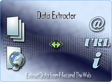 Data Extractor, Extract emails, URLs or data from websites or files