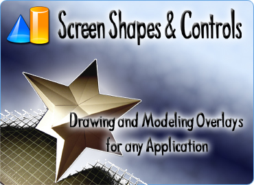 Drawing and modeling overlays for any application.