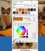 ColorPic, The Desktop ColorPicker Software