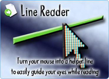 LineReader, Turn your mouse into a helpful line to speed up your reading